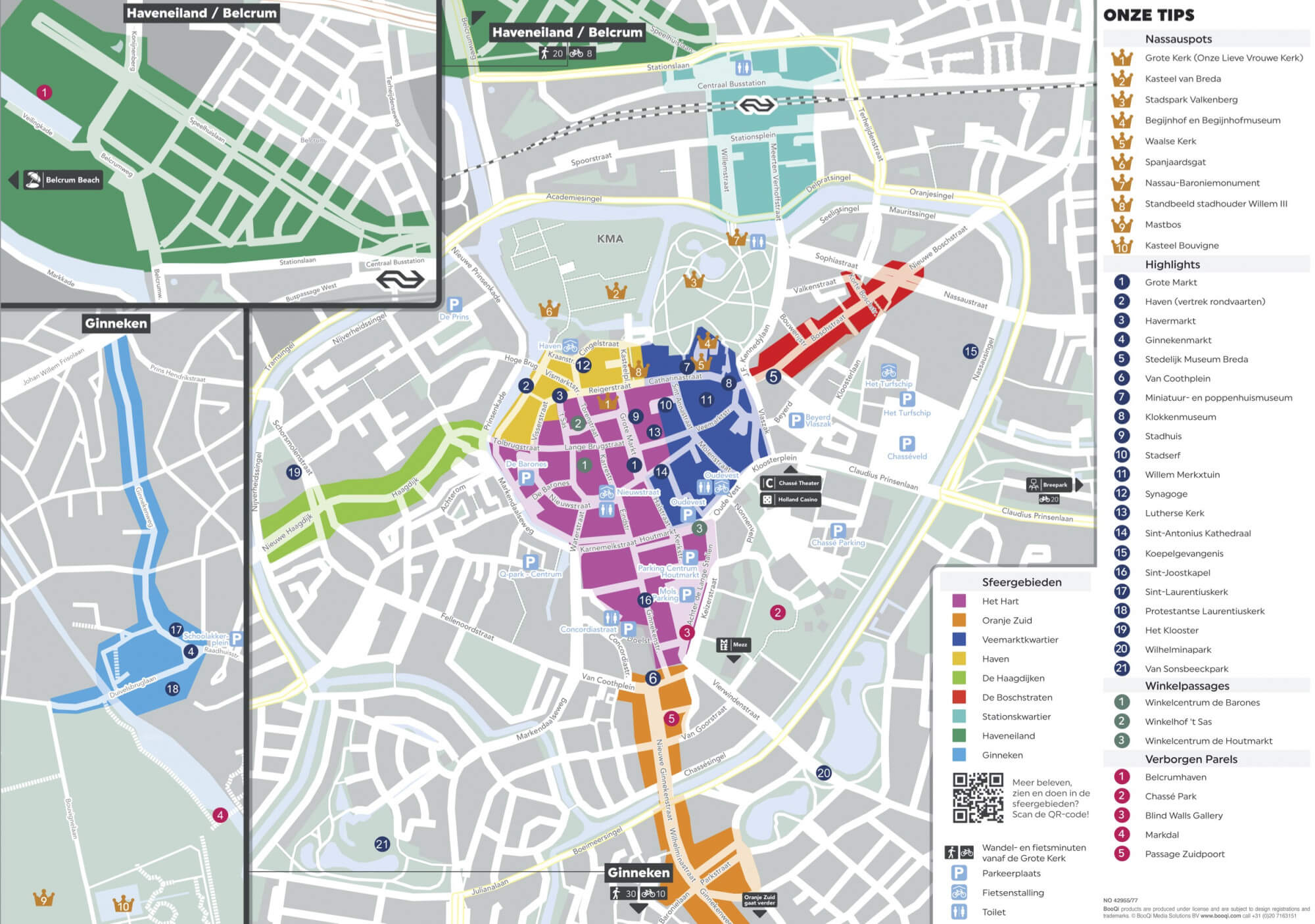 Stadsplattegrond Breda / Citymap Breda | Breda Business