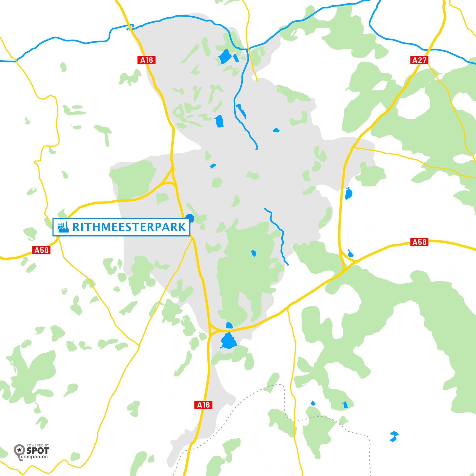 Rithmeesterpark Breda - Werklocatie / Bedrijventerrein