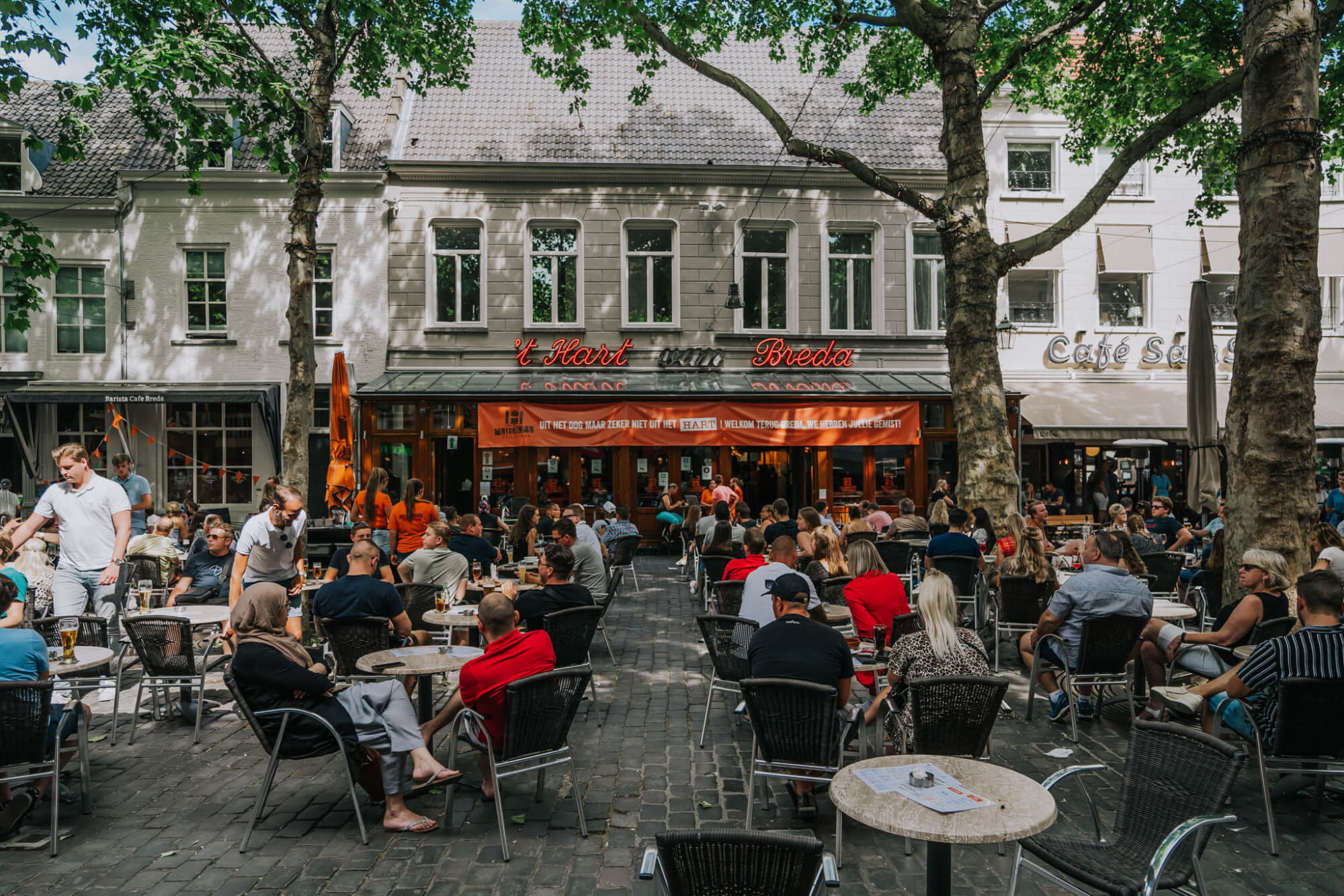 Binnenstad van Breda